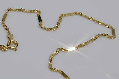 Russian rose gold chain cc012