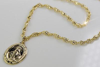 copy of Mother of God medallion & Snake chain