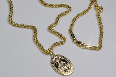 Mother of God medallion & Spiga chain