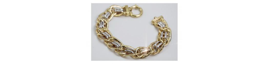 Bransoletki złote, włoskie   Złoty Chłopak
