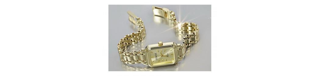 Zegarki złote 14K, Geneve - męskie i damskie   Złoty Chłopak